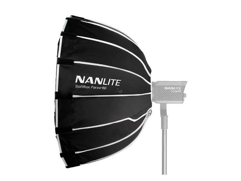 Nanlite南光(南冠)Forza 60用快捷拋物線柔光罩(SB-FZ60)