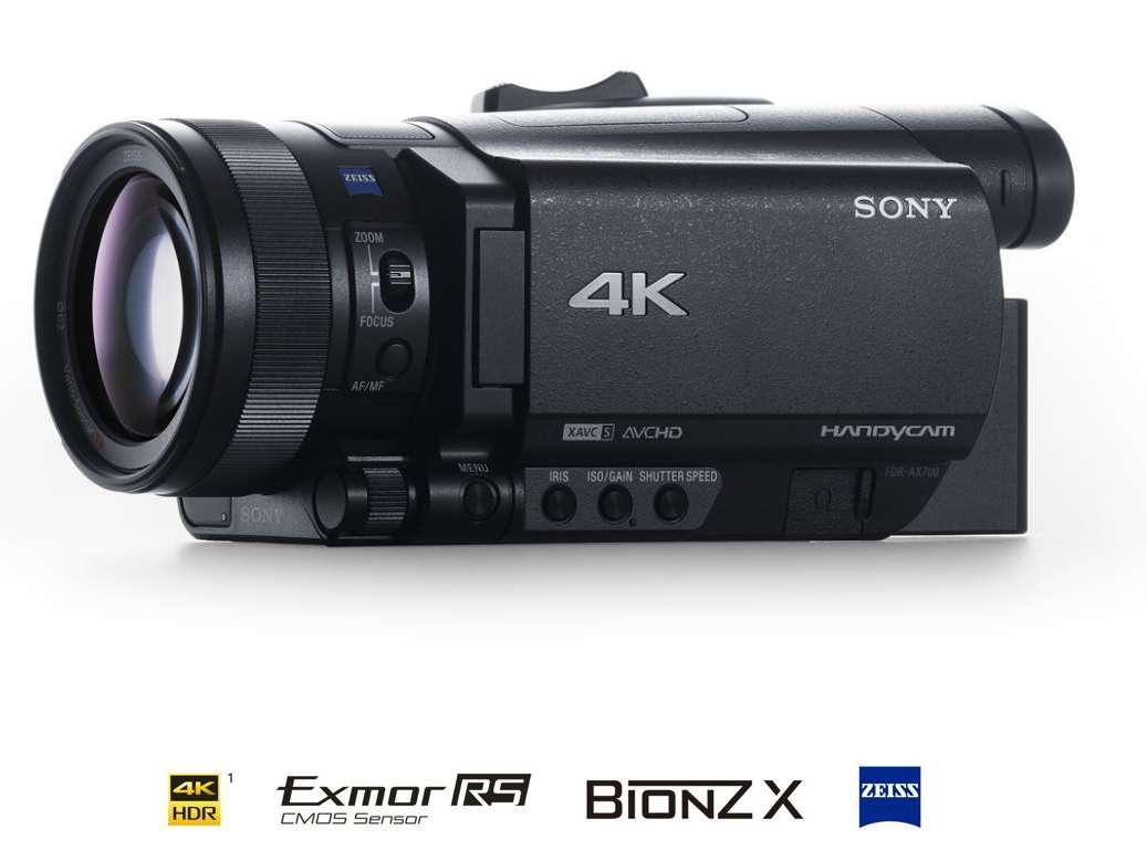 索尼4K HDR家用數位攝影機FDR-AX700