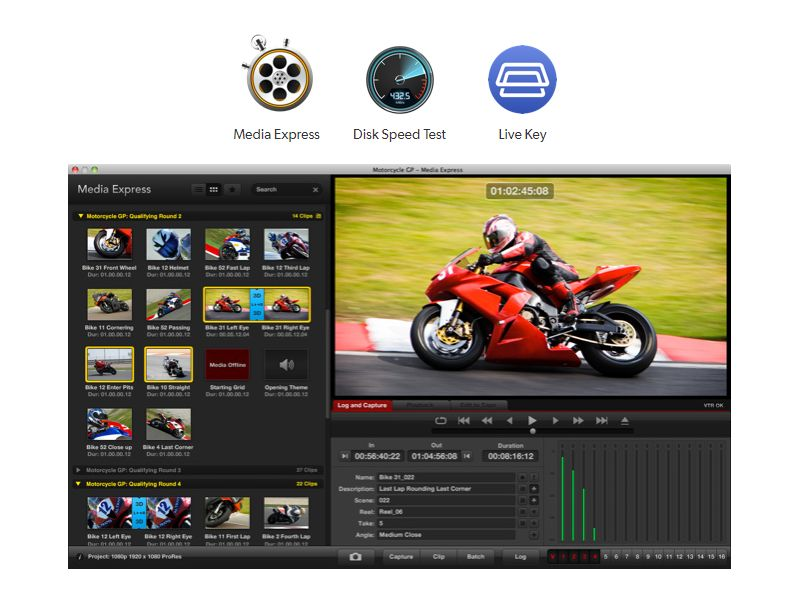 Media Express  Disk Speed Test  Live Key