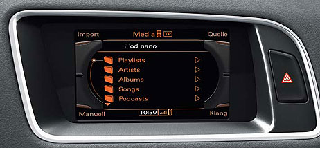 audi audi ipod adapter cable ami ipod iphone. Black Bedroom Furniture Sets. Home Design Ideas