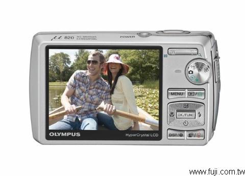 OLYMPUSU-820數位相機(數位蘋果網)