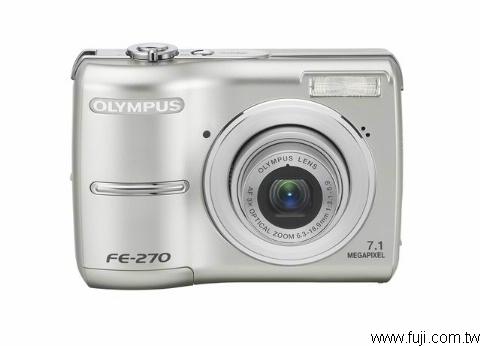 OLYMPUSFE-270數位相機(數位蘋果網)