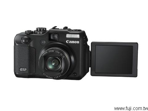 CANONPowerShot-G12數位相機(數位蘋果網)