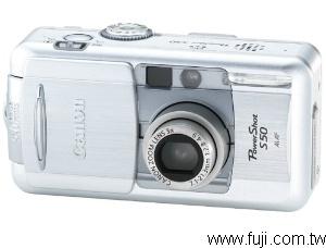 CANONPowerShot-S50數位相機(數位蘋果網)