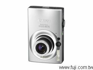 CANONIXUS-80IS數位相機(數位蘋果網)