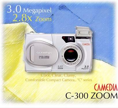 OLYMPUSC300z數位相機(數位蘋果網)