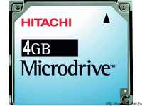 Hitachi 4GB Microdrive微型硬碟(3K4-4)