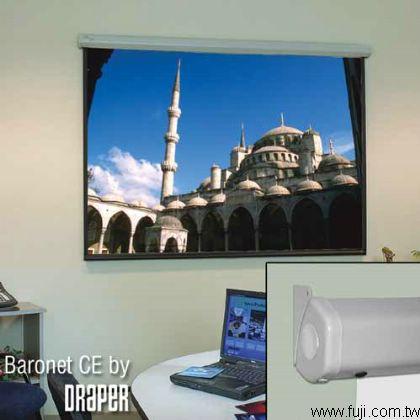 美國DRAPER進口87吋電動投影螢幕(灰幕)