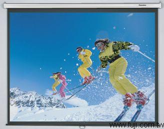Panoview進口100吋手拉式螢幕(蓆白)(Panoview-DS-3100PM)