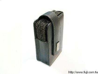 CAMKA 數位相機真皮攜存袋(鐵灰色)(CKA-53E)