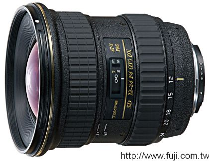 TOKINA 12-24mm F4 AT-X PRO 124 PRO DX數位相機專用鏡頭(FOR CANON)(AT-X PRO 124 PRO DX)
