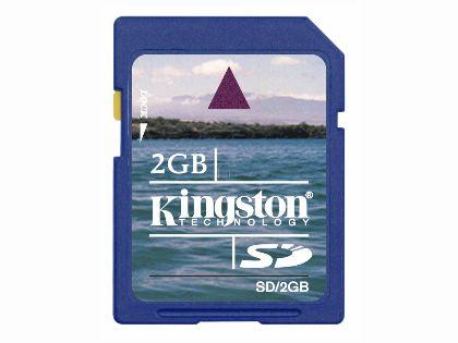 KINGSTON金士頓2GB SD記憶卡(日本製)(SD/2G)