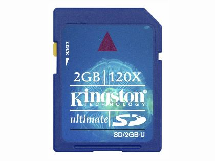 KINGSTON金士頓 2GB極速SD (Secure Digital Ultimate Card)記憶卡