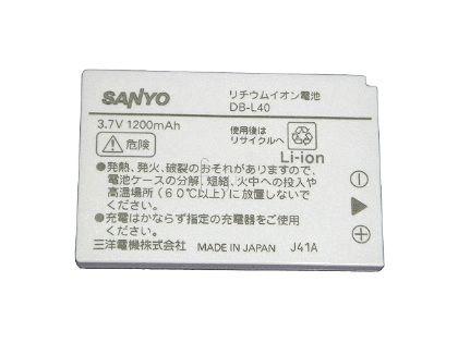 SANYO原廠DB-L40充電鋰電池