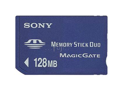 SONY原廠Memory Stick Duo 128mb記憶卡(舊機救星)(MSH-M128N)