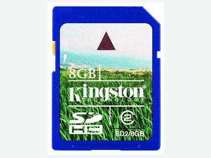 KINGSTON金士頓Class 2高速8GB SDHC記憶卡 (SD2/8GBFE)
