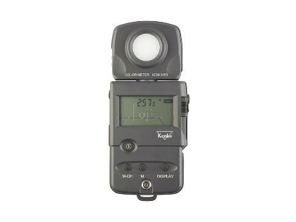 KENKO進口Color TemperatureMeter色溫表(同KM Colormeter III)( Professional Color Temperature Meter KCM-3100 )