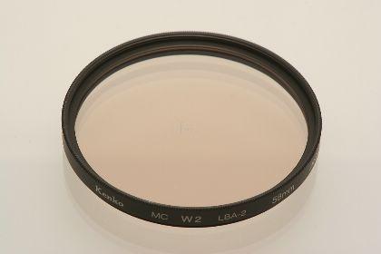 KENKO日本MC W2(81A)彩色底片色溫鏡片(72mm)(W2-81A72)