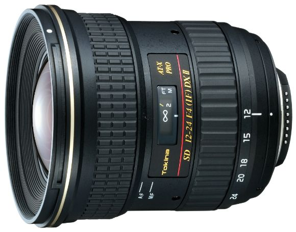 TOKINA 12-24mm F4 AT-X PRO 124 PRO DXII數位相機專用鏡頭(FOR CANON)