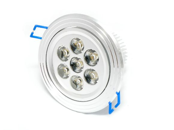 高功率High-power LED Plant Grow Lights 植物生長投射燈/崁燈(6B:1R)(LL-7L-9W-GBB)