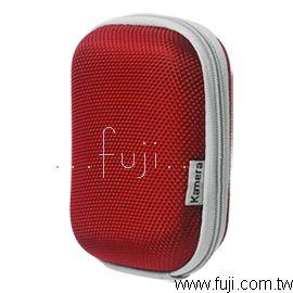 Lingo優選 牛津立體布面硬殼相機包-紅(K-8027-5)