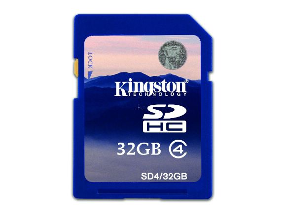 KINGSTON���h�y�W�j�e�q���t32GB SDHC�O�Хd(SD4/32GB)