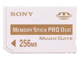 SONY原廠Memory Stick PRO Duo 256MB記憶卡(MSX-M256A) (MSX-M256A)