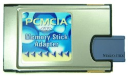 Memory Stick (DUO)TO PCMCIA轉接卡(FY-MS2PC)