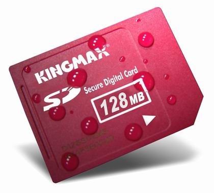 KINGMAX勝創128MB(SecureDigitalCard)SD白金記憶卡(KINGMAX-SD128)