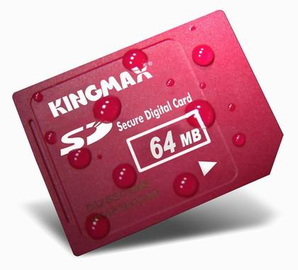 KINGMAX勝創64MB(SecureDigitalCard)SD記憶卡(KINGMAX-SD64)