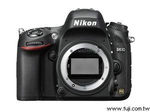 NIKON藝康D610專業數位機身(不含鏡頭)