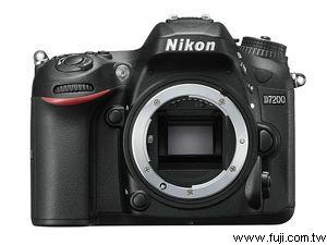 NIKON藝康D7200專業數位機身(不含鏡頭)